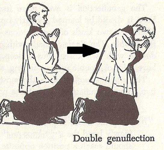 genuflection